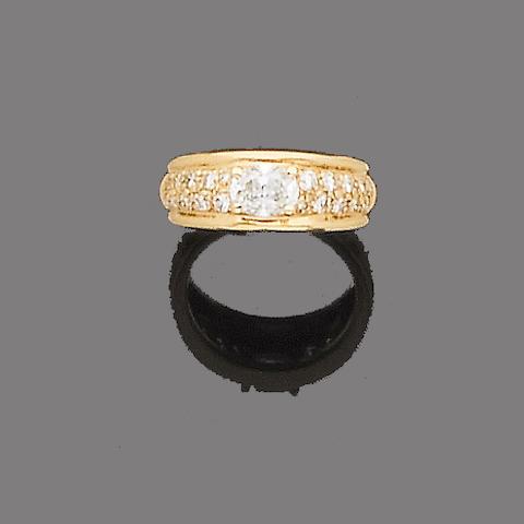 A diamond dress ring, by Boucheron