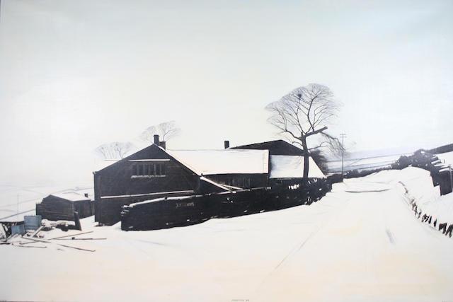 Peter Brook (British, 1927-2009) 'Pennine Christmas Day'