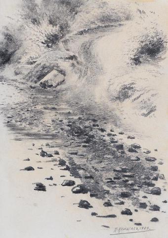 Pericles Spiridonovich Ksidias (1872-1942) Stones, 1905 unframed