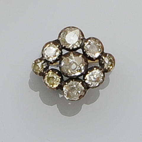 A diamond cluster ring (2)