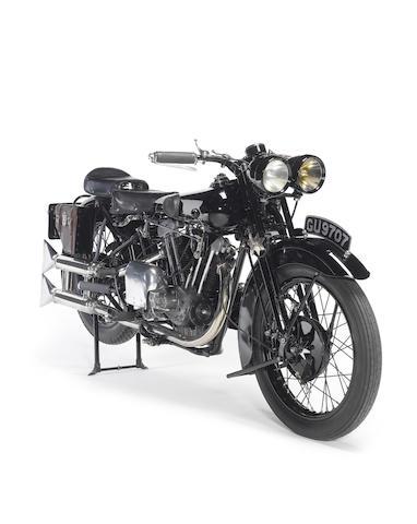 1929 Brough Superior Overhead 680 Frame no. J878 Engine no. GTOY/S/43421/S