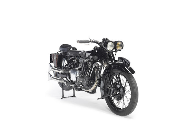 1929 Brough Superior Overhead 680 Frame no. J878 Engine no. GTOY/S/43421/S