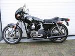 1977 Harley-Davidson 998cc XLCR Frame no. 7F00656H7 Engine no. 7F00656H7