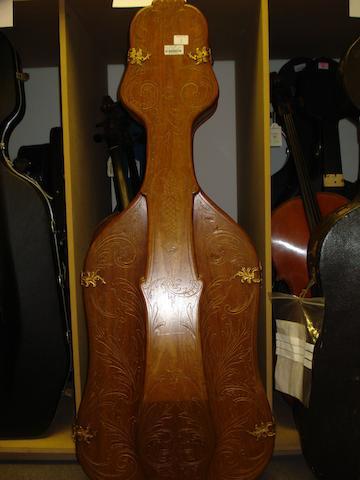A fine Belle Epoque Cello Case (1)