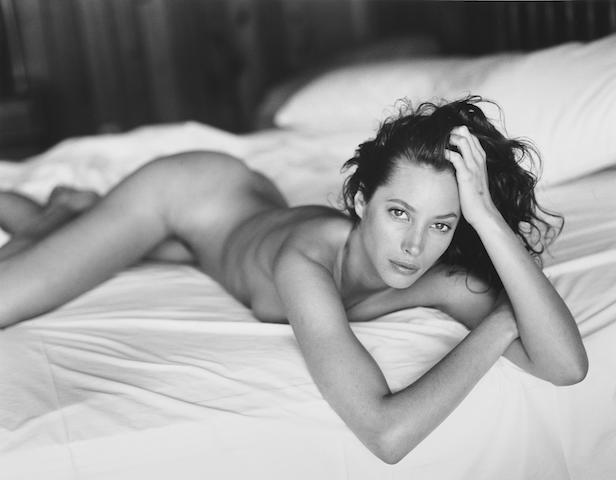 Sante D'Orazio (American, born 1956) Christy Turlington, Panoramic View Hotel, 1993 27.9 x 35.3cm (11 x 13 7/8in).
