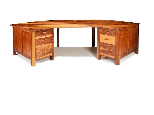A 20th century stinkwood desk