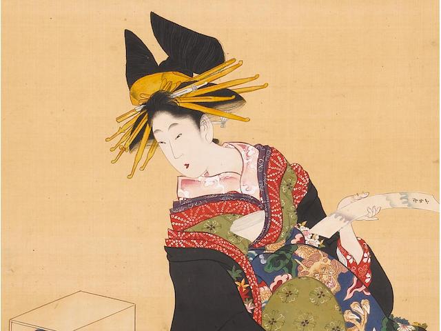 Kitagawa Utamaro II (fl. circa 1810's-1830's) Circa late Bunka era (1804-1818), early 19th century