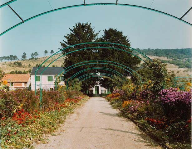 Stephen Shore (American, born 1947) Giverny, France, c. 1982 Paper 49.9 x 61cm (19 5/8 x 24in), image 40.8 x 51.5cm (16 x 20 1/4in).