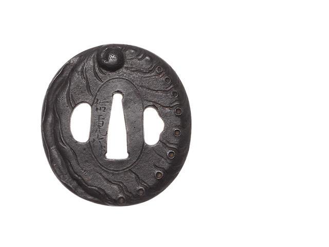 Seven tsuba 18th-19th century