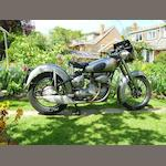 1951 Sunbeam 489cc S8 Frame no. S8 5924 Engine no. S8 1084