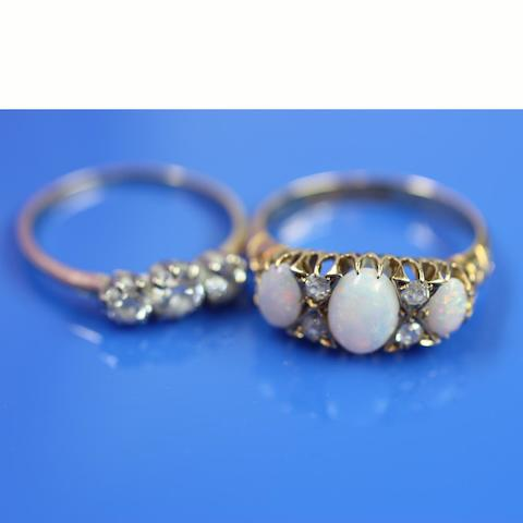 An opal and diamond ring (2)