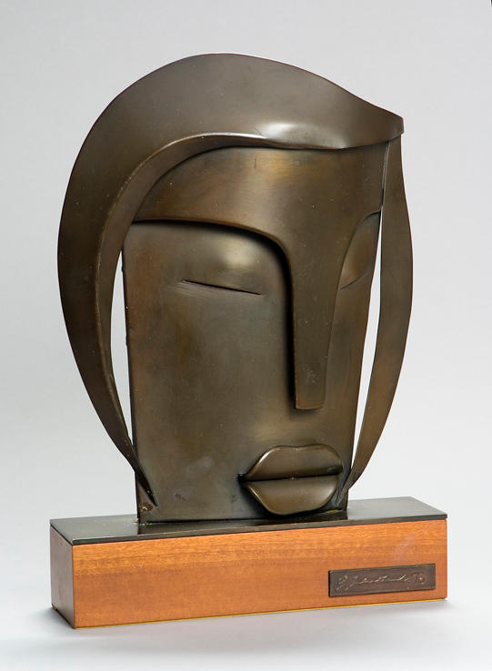 (n/a) George Jaholkowski (Russian, 1914-1979) Face 26cm (10 1/4in) high