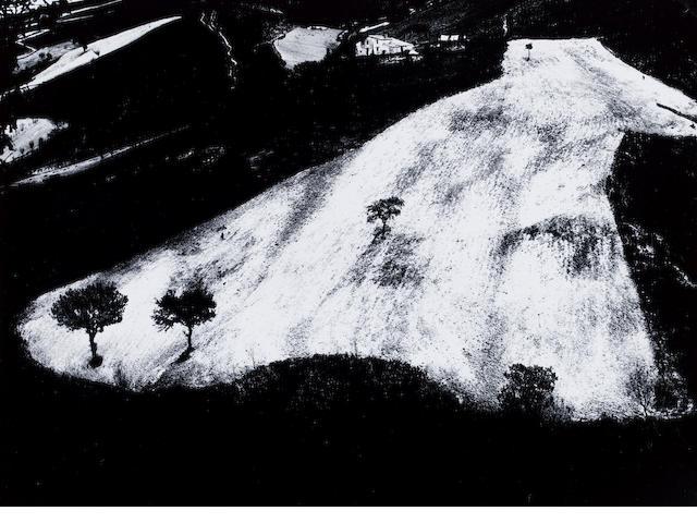 Mario Giacomelli (Italian, 1925-2000) Paesaggio Angelini, date? 28.9 x 39.6cm (11 3/8 x 15 9/16in).