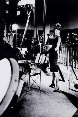 Bob Willoughby (American, born 1927) Audrey Hepburn, 1953 Sight area 33.3 x 22.5cm (13 1/8 x 8 7/8in).