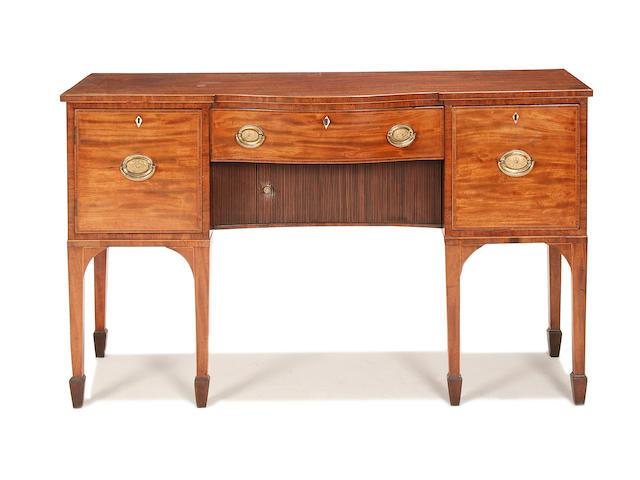 A George III mahogany sideboard