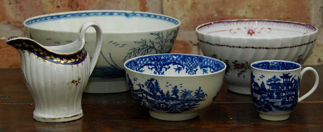 A group of 18th century English porcelain