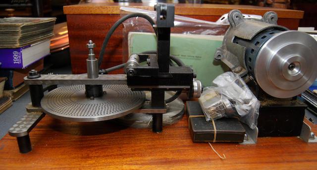 """A 20th century """"Chronos"""" wheel-cutting engine"""