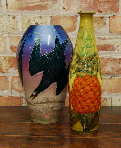 Two Sally Tuffin vases