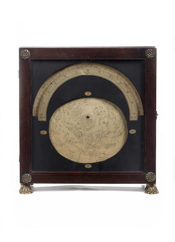 "An Elton's astronomical screen or ""Transparent Astrarium"",  English,  circa 1819,"