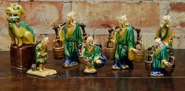 """A collection of Chinese """"mud"""" figures"""