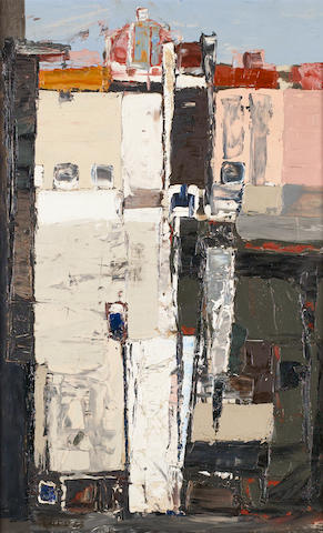 Paul Feiler (British, born 1918) Italian Square 62 x 38 cm. (24 1/2 x 15 in.)