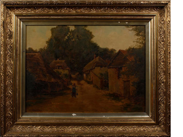 H. Vincent (British) The Village of Cockerton, Mid Devon