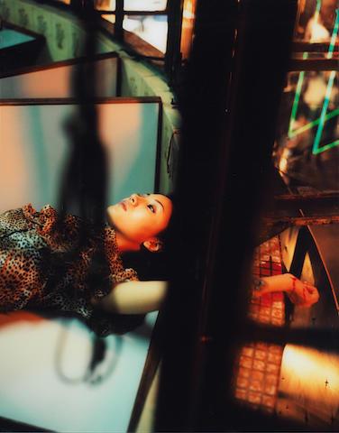 Izima Kaoru (Japanese, born 1954) Michele Reis wears Givenchy, 1997 100 x 79cm (39 3/8 x 31 1/8in).