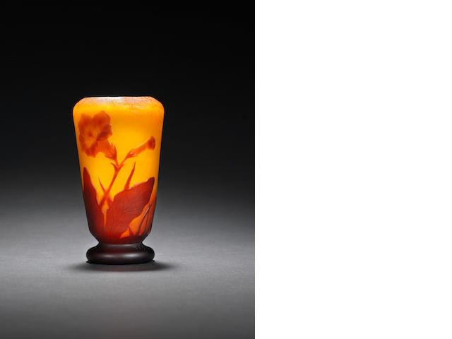 Small Daum cameo vase