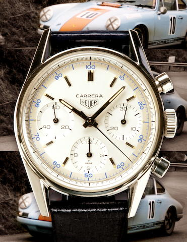Heuer Carrera Ref. 2447 D 1966, Serial 70337  (page 106/107)