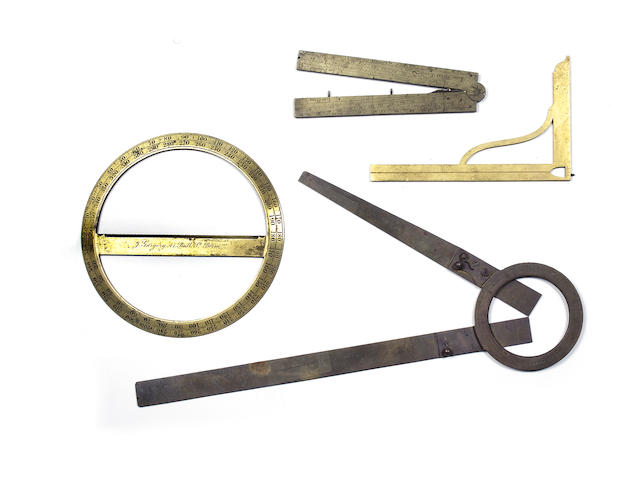 Four drawing instruments (4)