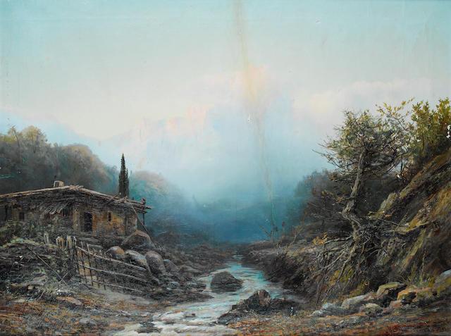 Mikhail Nikolaevich Protopopov (Russian, 1859-1927) Caucasian morning