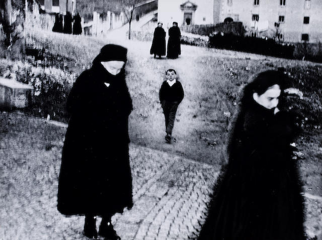 Mario Giacomelli (Italian, 1925-2000) Untitled, from 'Scanno', dates? 29.7 x 39.5cm (11 11/16 x 15 9/16in).