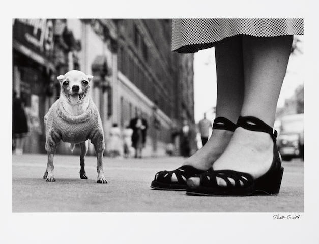 Elliott Erwitt (American, born 1928) New York City, 1946 Paper 40.6 x 50.5cm (16 x 19 7/8in), image 29.9 x 44.6cm (11 3/4 x 17 1/2in).