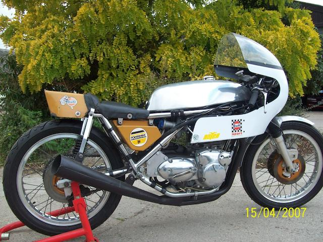 Ex-Boyer of Bromley, Mick Grant,1972 Seeley-Trident 750cc Racing Motorcycle Frame no. CS238T Engine no. EC 03936 T150T