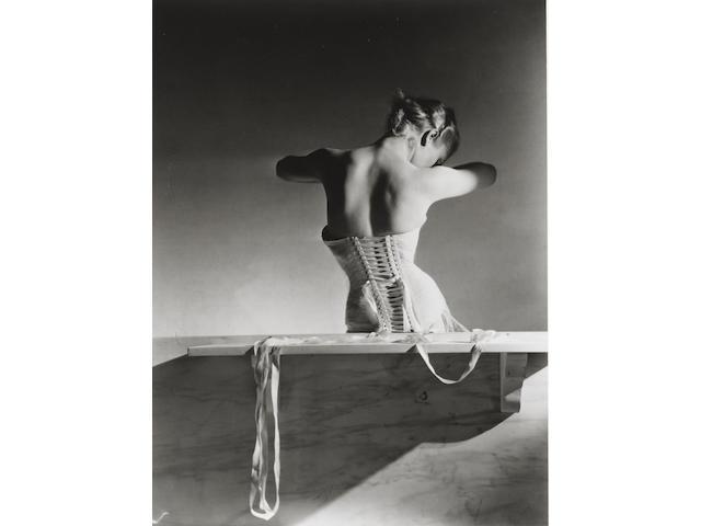 Horst P. Horst (German/American, 1906-1999) The Mainbocher Corset, Paris, 1939