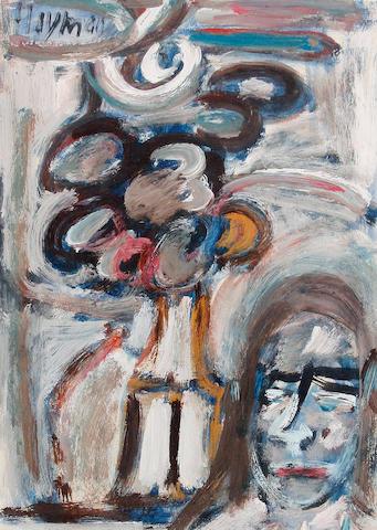 Patrick Hayman (British, 1915-1988) Still life of flowers