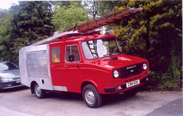 ex Rolls-Royce Ltd.,1979 Leyland Sherpa 1,700cc Fire Tender  Chassis no. SAZ2HSLT18N132250