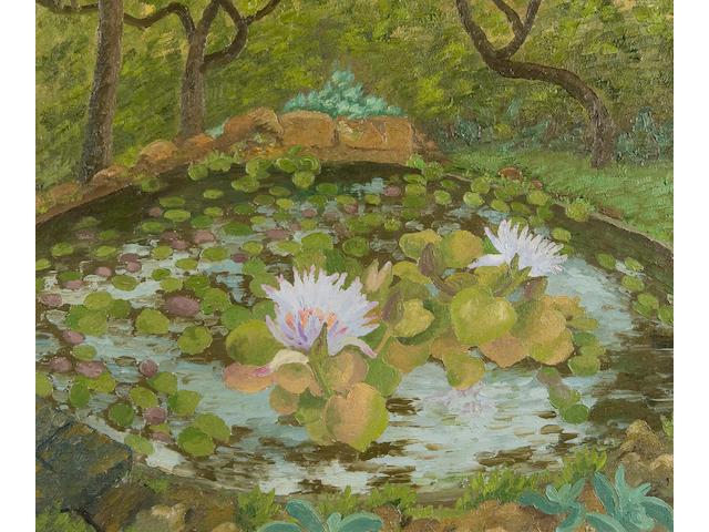 Sir Cedric Morris (British, 1889-1982) 'African water lily - Madeira'