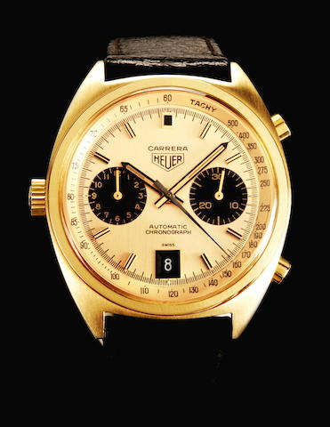 Heuer Carrera  Ref. 1158 CHN 1972, Serial 244110  (page 154/155) Box