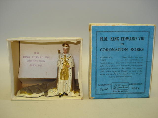 Britains EXTREMELY RARE set 1472 H.M. KING EDWARD VIII 1