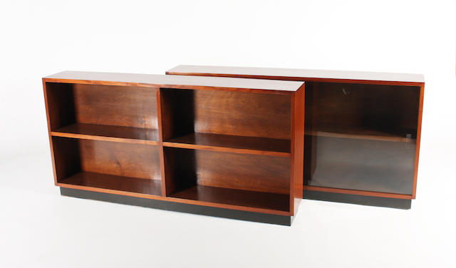 Pair G R bookcase