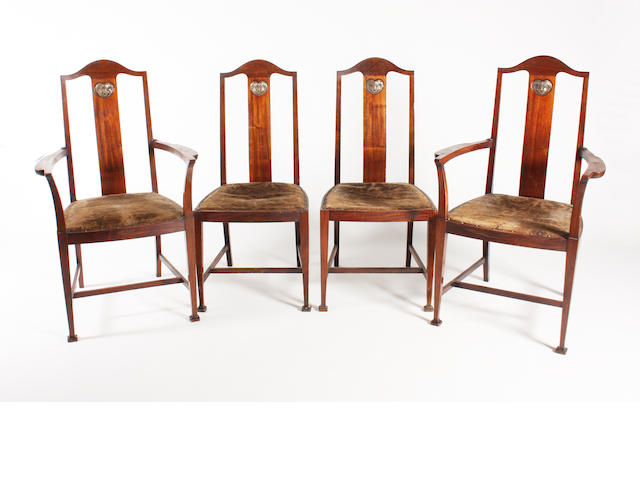 Set four Henry chairs