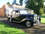 1953 Bentley R-Type Saloon  Chassis no. B349SP Engine no. B424S
