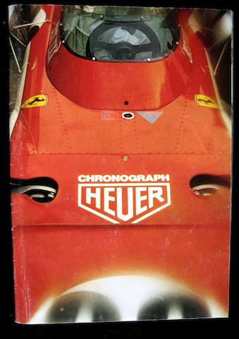 A rare Heuer Catalogue from 1972