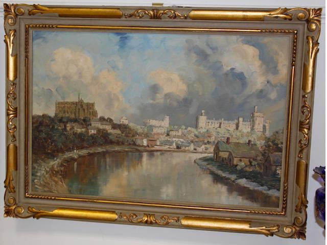 William Francis (Will) Longstaff (Australian, 1879-1953) View of Arundel