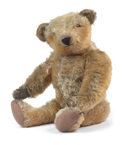 An early cone-nosed Steiff Teddy Bear, 1905-06