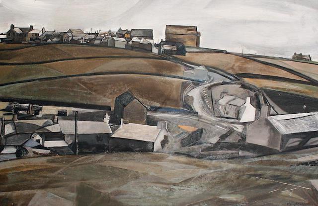 David Haughton (British, 1924-1991) St-Just-in-Penwith