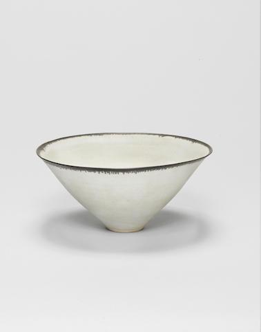 Dame Lucie Rie (Austrian/ British 1902-1995) A Bowl, circa 1960