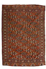 A Yomut carpet, West Turkestan