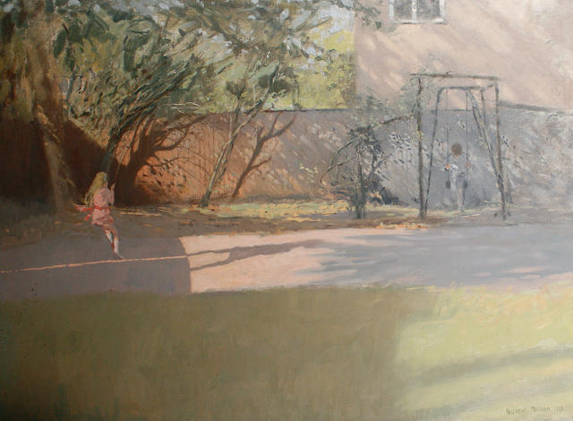 Andrew Macara (British, born 1944) 'My back garden'